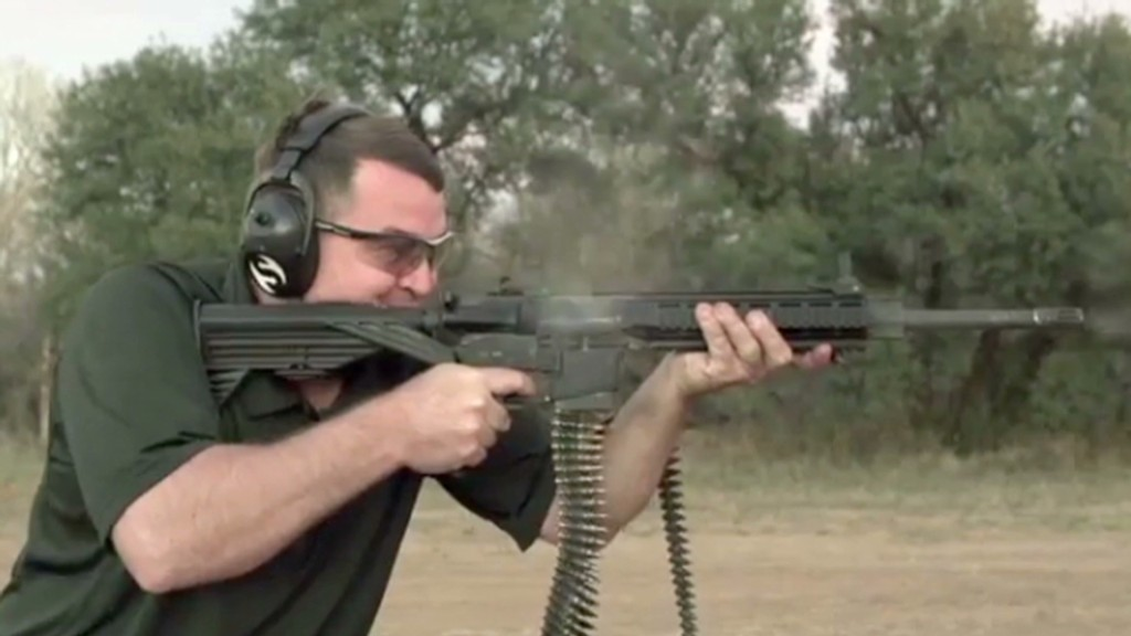 AR-15 Full Auto Fun With Barely Legal Gadget