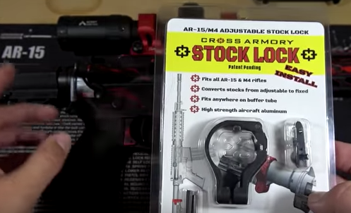 STOCK LOCK! @thedailyshooter76 just did an AR-15 featureless video showing STOCK LOCK in action!