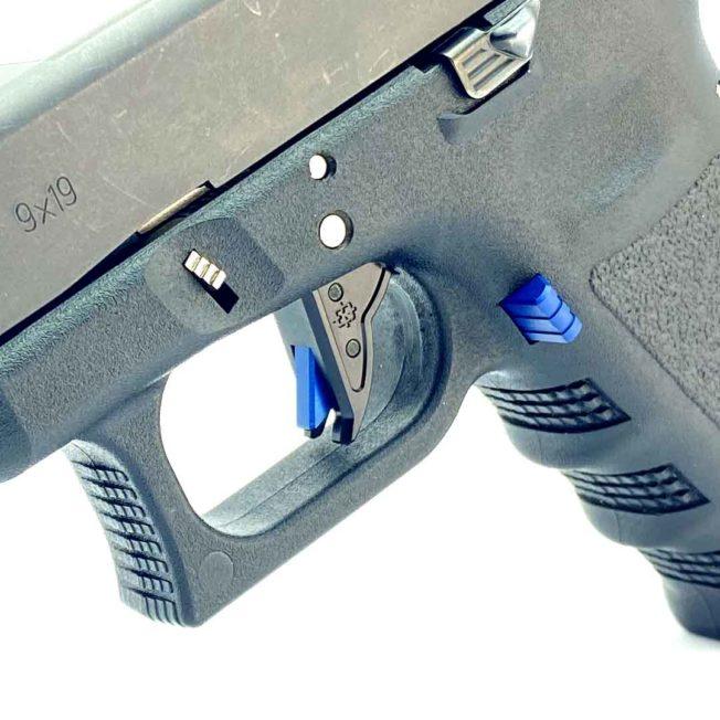Gen 3 Glock Trigger - Black with BLUE