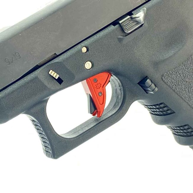 Gen 3 Glock Trigger - Red with BLACK