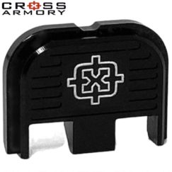 Cross Armory Back Plate - BLACK