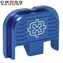 Cross Armory Back Plate - BLUE