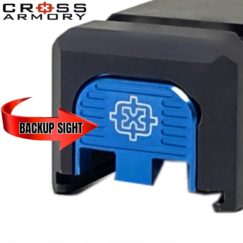 Cross Armory Back Plate - BLUE2