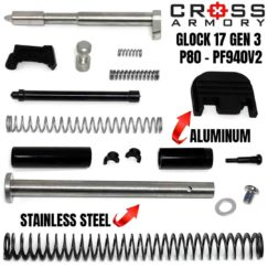 Standard Upper Parts Kit for Glock 17 by Cross Armory