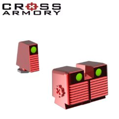 glock tall sights RED rmr red dot cross armory